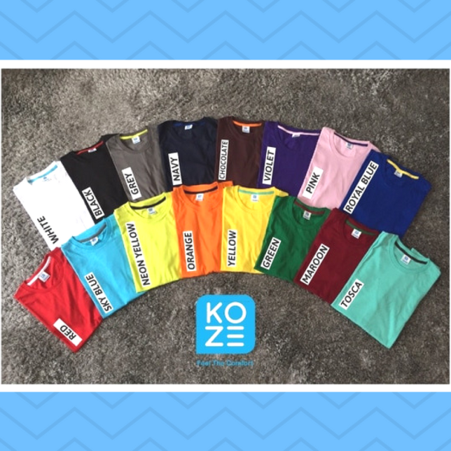 Koze Indonesia Kaos Polos Premium