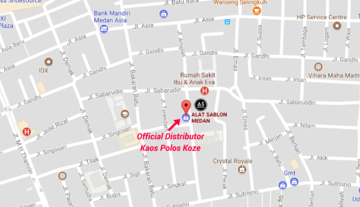 Distributor Kaos Polos Koze Medan