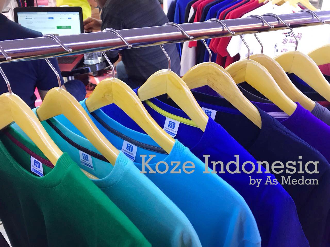 Kaos polos premium cotton combed harga murah